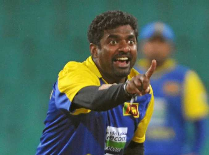 SPIN MAESTRO: Sri Lanka's Muttiah Muralitharan appeals for a wicket in a 2010 ODI clash against Australia.