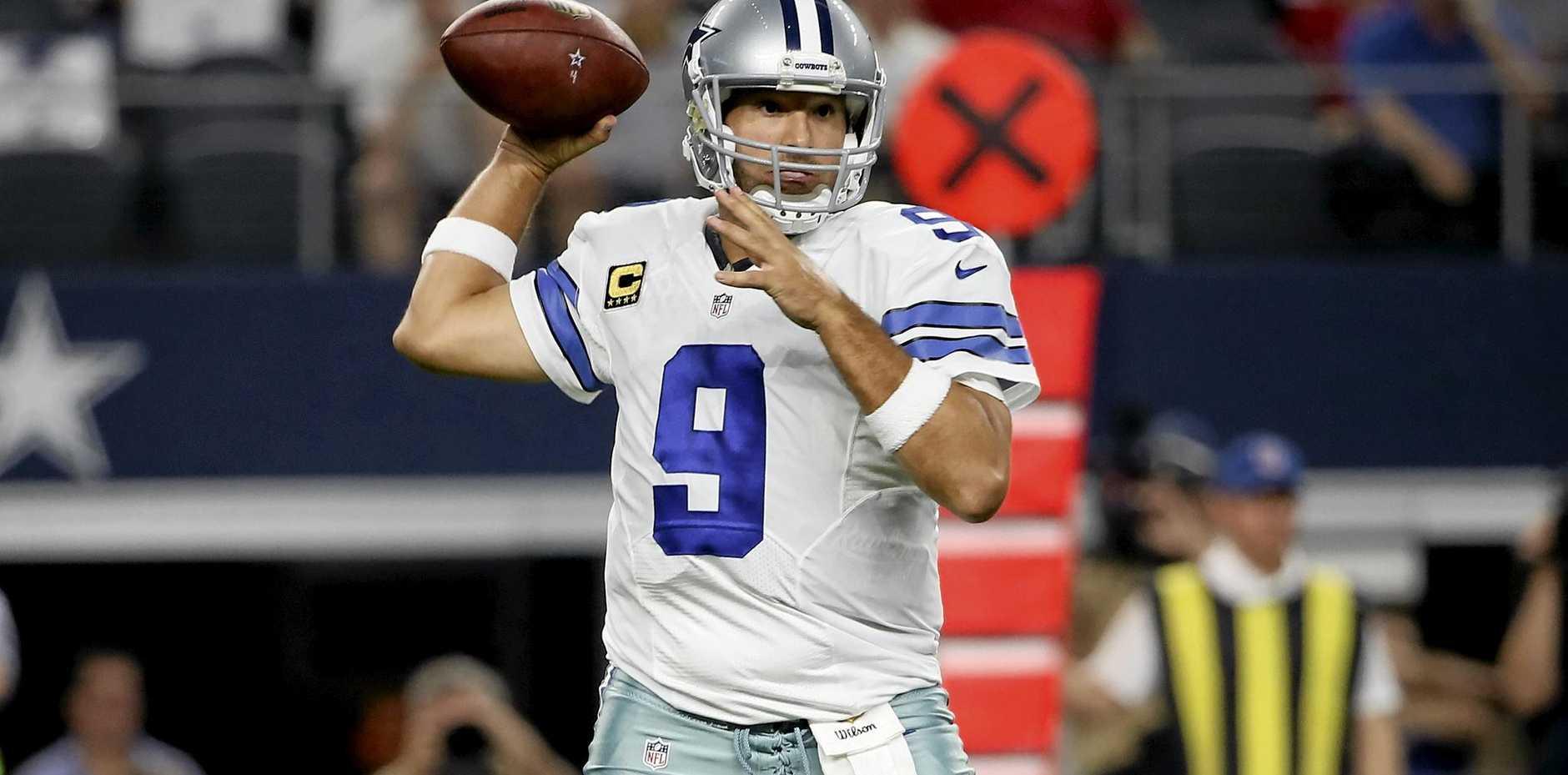 PRIME POSITION: Dallas Cowboys quarterback Tony Romo.