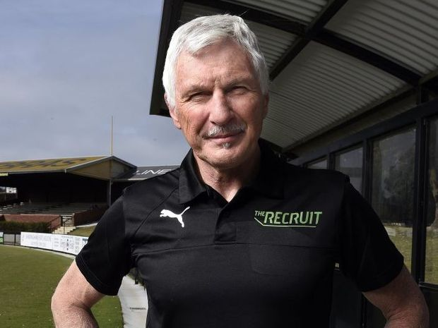 Mick Malthouse stars as the head coach on the TV series The Recruit.