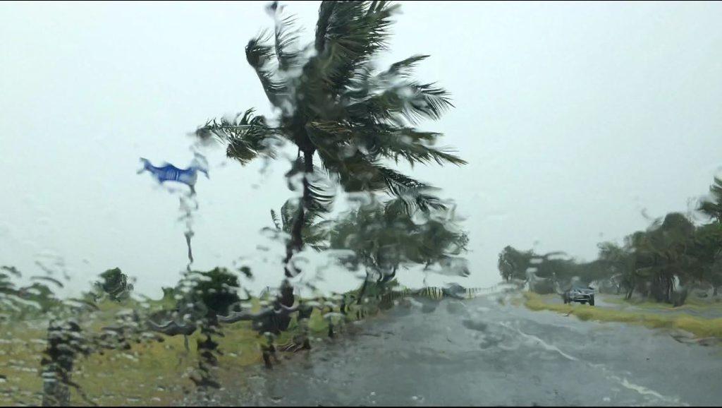 Bad weather Mackay Town Beach Photo Tony Martin / Daily Mercury
