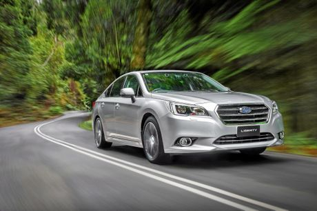 Road Test Review Subaru Liberty 3 6 R Sunshine Coast Daily