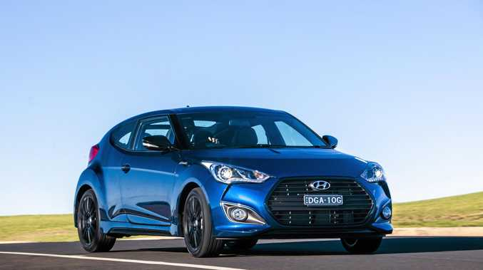 STREET APPEAL: Hyundai has released the Veloster Street Turbo Special Edition.