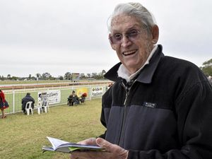 The oldest punter at the track still has the hot tips