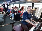 WATCH: World's first mobile piano bar stops in Hervey Bay