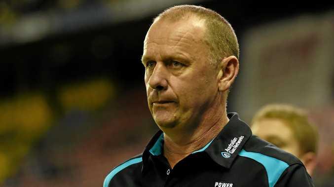 NEEDING RESULTS: Port Adelaide coach Ken Hinkley.