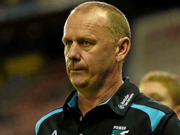 NEEDING RESULTS: Port Adelaide coach Ken Hinkley.