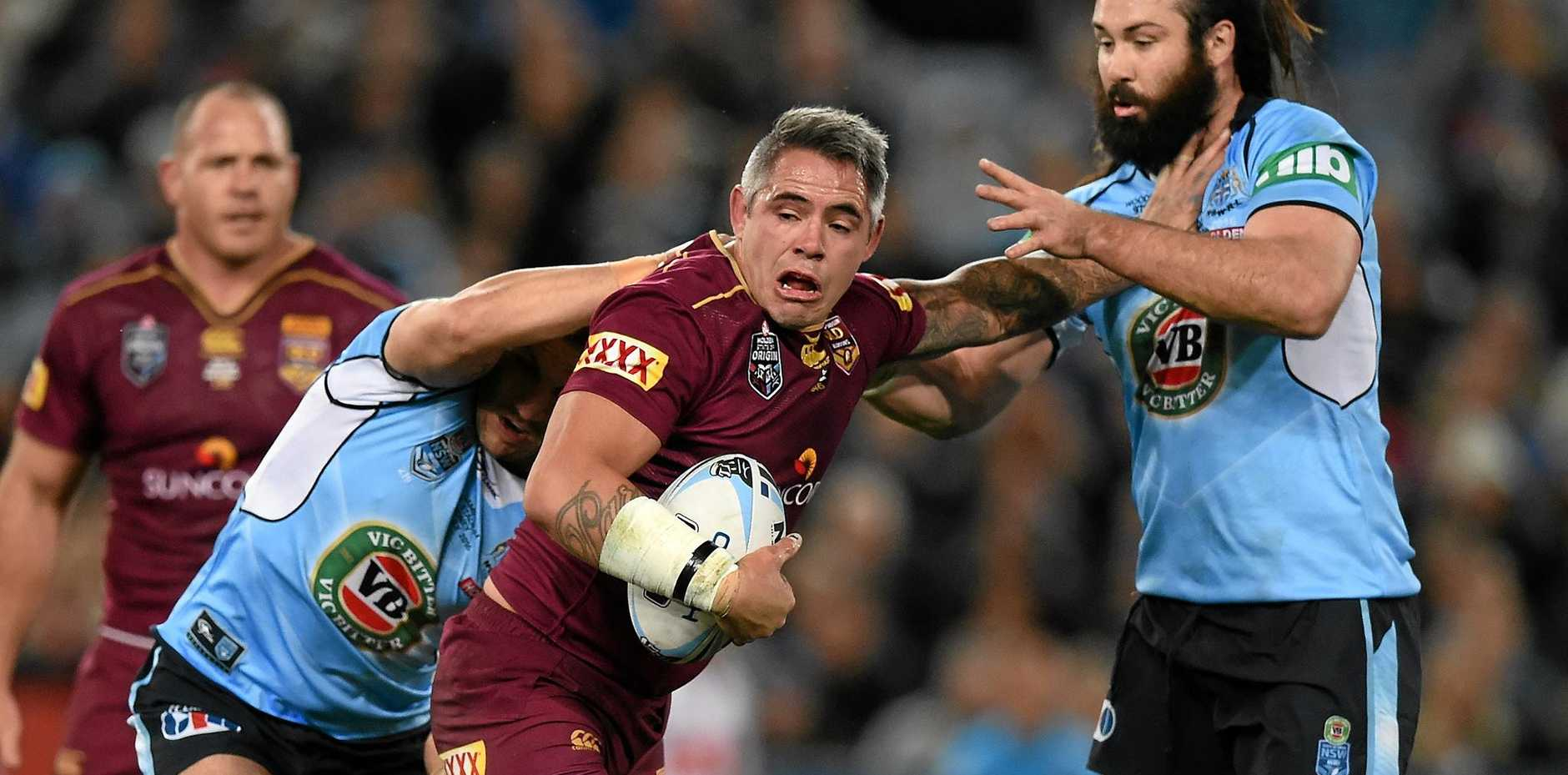 NO WORD: Corey Parker will miss tonight's clash with the Rabbitohs through suspension. The Broncos are yet to name who replace Parker as captain for match.