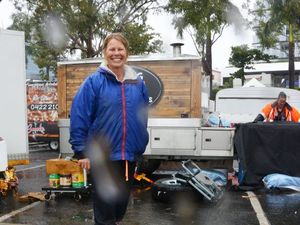 River Fest trader's spirit undampened despite closure