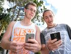 Pokemon GO enthusiasts Nicholas Bundesen and Angus Marshall-Stout. The pair have planned an Pokemon catching expedition on Saturda, and so far 90 people have indicated they will attend.Photo Matthew McInerney  / Fraser Coast Chronicle
