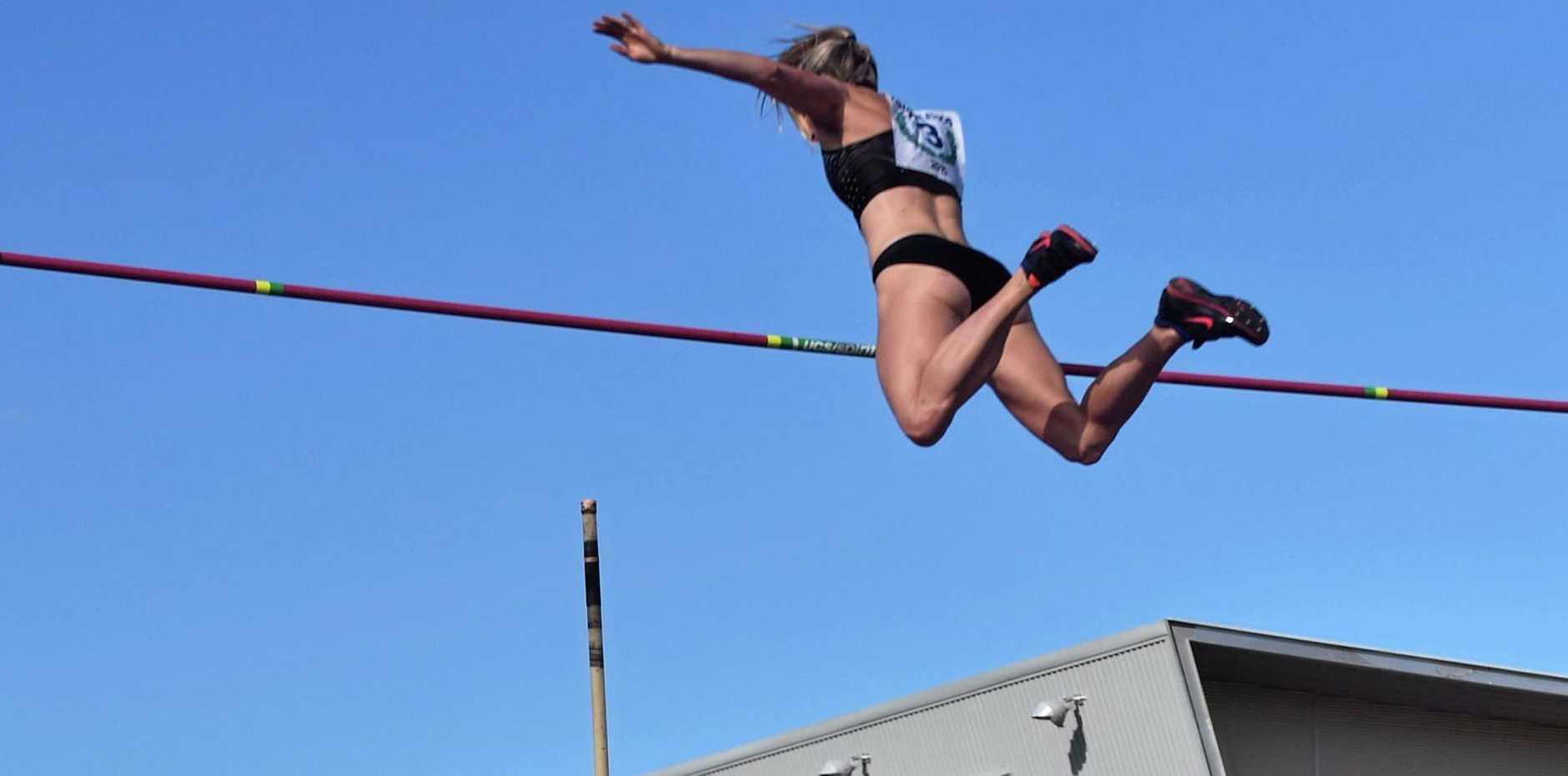 Sunshine Coast athlete Alana Boyd in action ahead of the 2016 Rio Olympics.