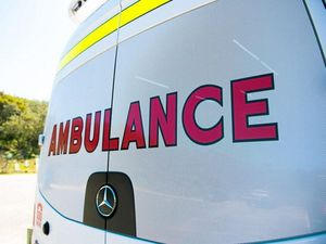 Man assessed after morning highway crash