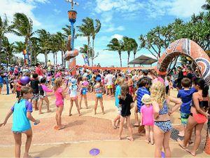 Popular water play area gets Kraken on improvements