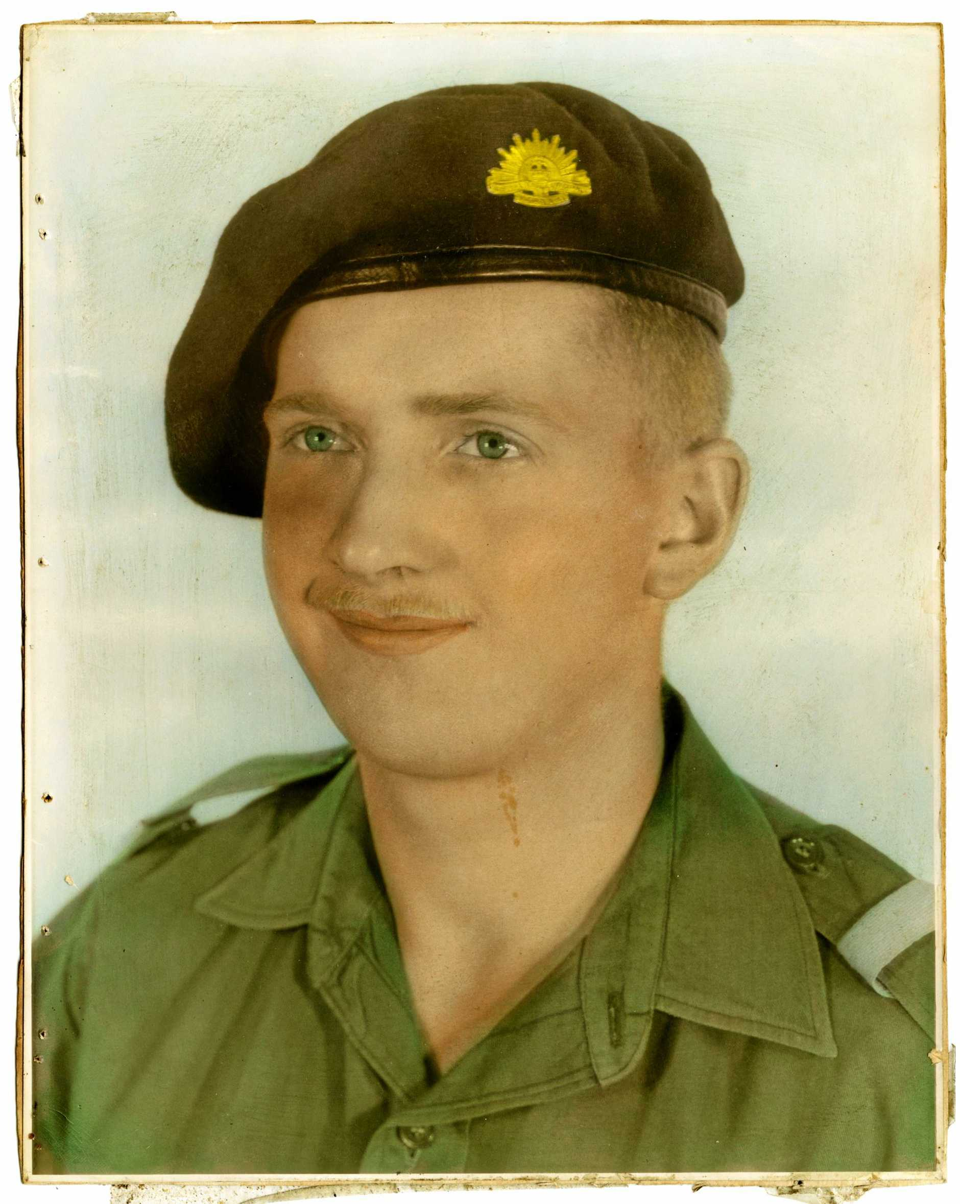 Corporal Phillip 'Doc' Dobson was described by other veterans as a 'hero' after the Battle of Long Tan in August 1966.