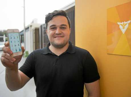 GOTTA CATCH THEM ALL: Competitive by nature, Brandon Woodham says he's the top dog of Gladstone's Pokemon Go scene.
