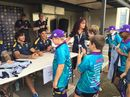 Biloela U11 side competes at the North Queensland Cowboys' home ground.
