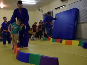 Grant gets South Burnett judo club competition ready