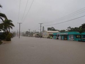 Records tumble as rain falls in Central Queensland
