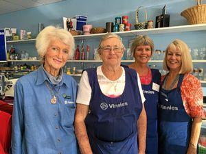 Mary celebrates 40 years of volunteering
