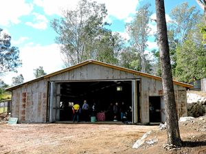 Old look for new Gympie Private Forest Services shed
