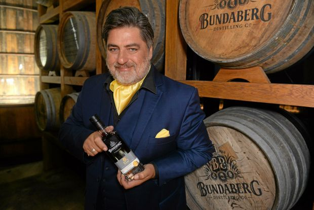 PREMIUM RUM: Chef Matt Preston visited the Bundaberg Rum where he created Matt's Blend.