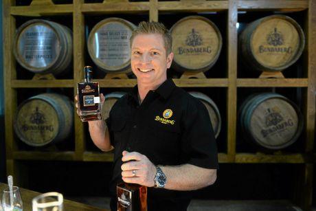 PREMIUM RUM: Bundaberg Rum's senior brand manager Duncan Littler.