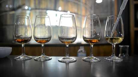PREMIUM RUM: Chef Matt Preston visited the Bundaberg Rum where he created Matt's Blend.