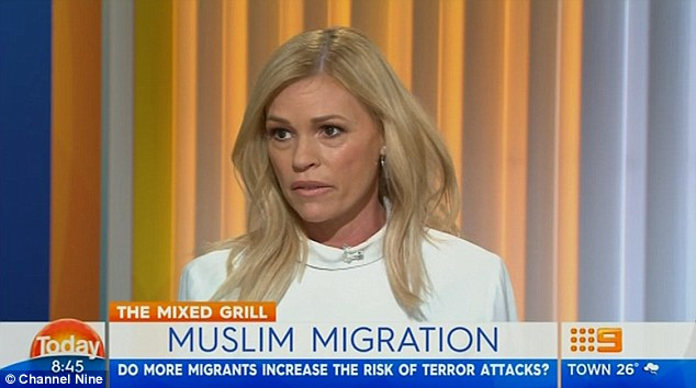 Sonia Kruger speaks about Muslim immigration.