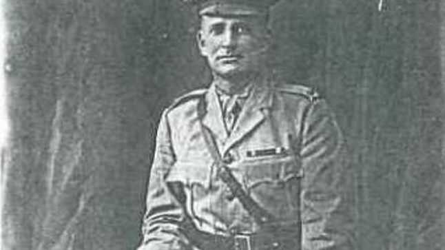 KILLED IN ACTION: Bundaberg-born soldier Lt James Benson died in Fromelles.