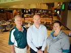 NEW LOOK: Frenchville Sports Club chairman Graeme Brady, general manager Mark Bovis and marking and promotions manager Diane Anderson are pleased with the remodelling of the sports club. Photo Tamara MacKenzie / The Morning Bulletin