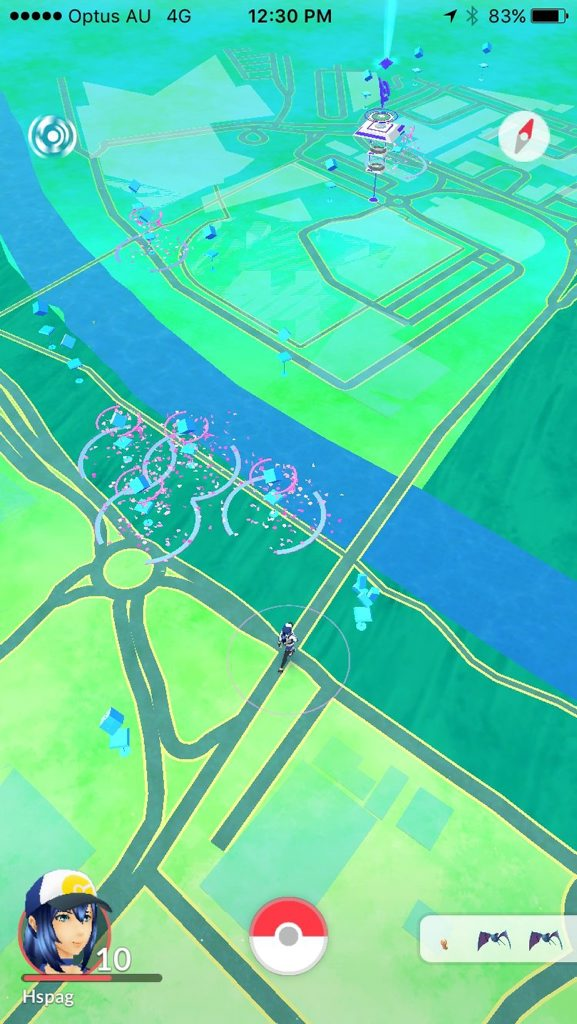 LURES GALORE: There are constantly lures out by the Bremer River.