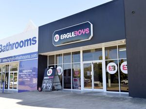 EAGLE BOYS: One local shop closes, another stays open