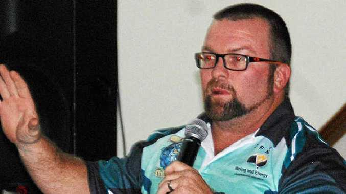 NEXT BATTLE: CFMEU Mackay district president Stephen Smyth is calling for change to the workers compensation scheme those diagnosed with black lung disease will have access to.