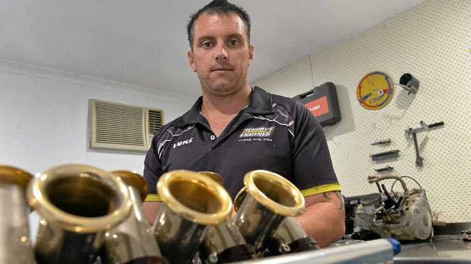 Luke Hendry helped build an engine for one of Australia's and the world's top drivers, Australian Toby Price.