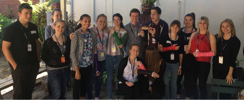 Students from three Whitsunday schools took part in the two-day work experience program at the Proserpine Hospital.