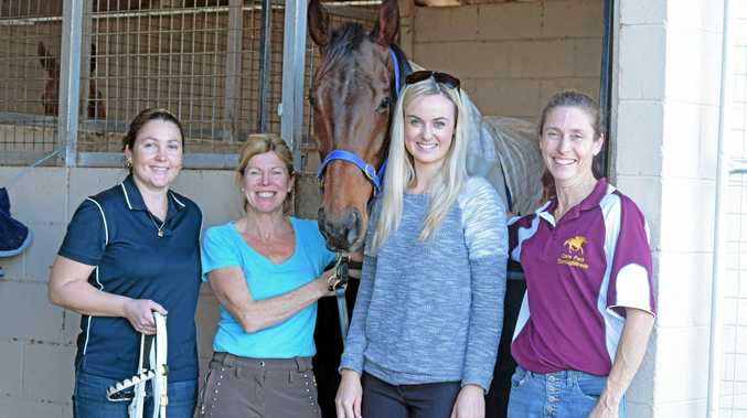 ON TRACK: Trainers Catherine Inwood, Jodie Bohr, Sally Taylor and Joanne Hardy have horses entered in Sunday's Sawtell Cup Race Day