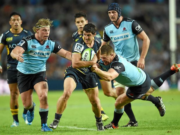 FINALS HOPES: Tomas Cubelli of the Brumbies in action against the Waratahs.