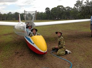 Air Force Cadets flying high
