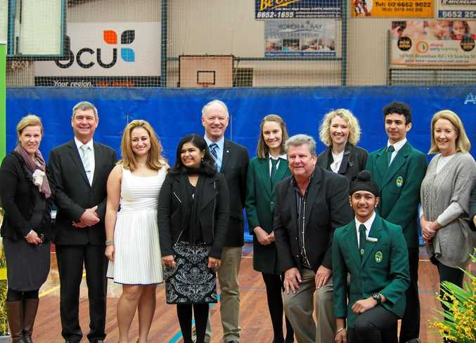 TOP HONOUR: Orara High School welcomed the NSW Tour of Honour.