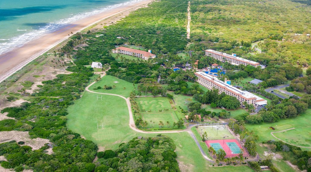An aerial view of Capricorn Resort. Photo Contributed / The Capricorn Coast Mirror