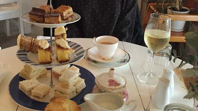TASTY TREATS: Enjoy a delicious High Tea at Kanangra Heights on Tanby Rd.