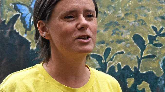 SPEAK OUT: Amnesty International Mackay's Kellie George.