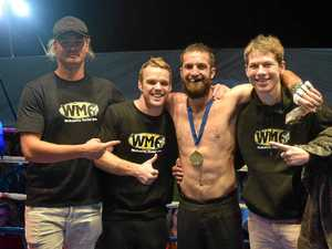 Local boxer looks at Qld titles after his Airlie win
