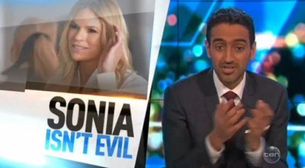 CALL FOR FORGIVENESS: Co-host of The Project Waleed Aly.