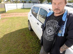 Dad sickened after vandals attack sick daughter's car