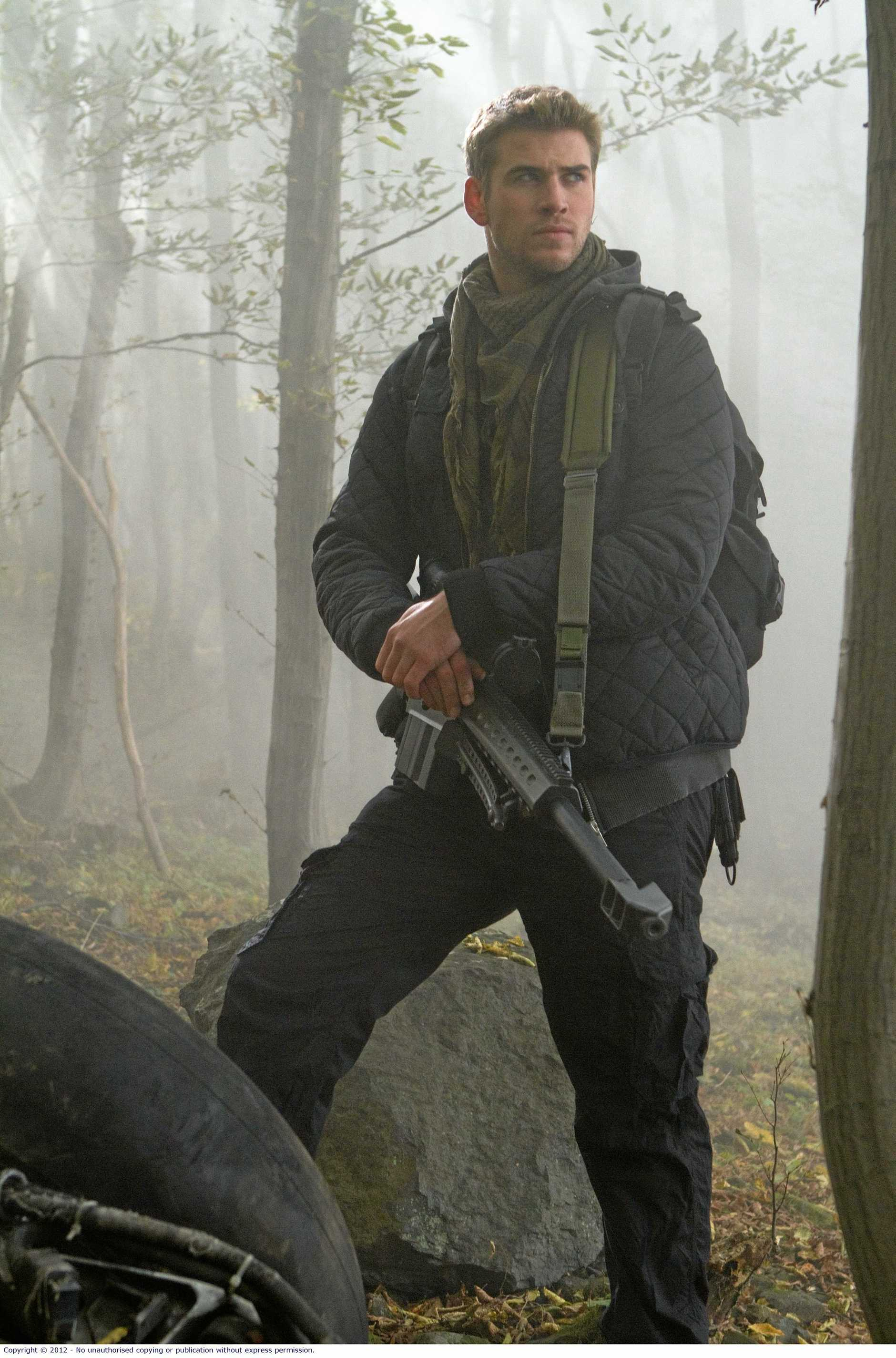 Liam Hemsworth in a scene from the movie The Expendables 2. Supplied by Roadshow Films publicity website.