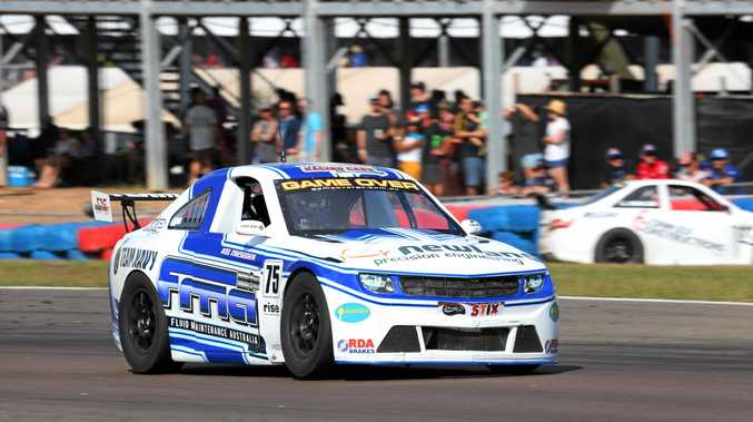 GO FASTER: Bundaberg's Kel Treseder  at the last round of the Aussie Racing Cars in Darwin.