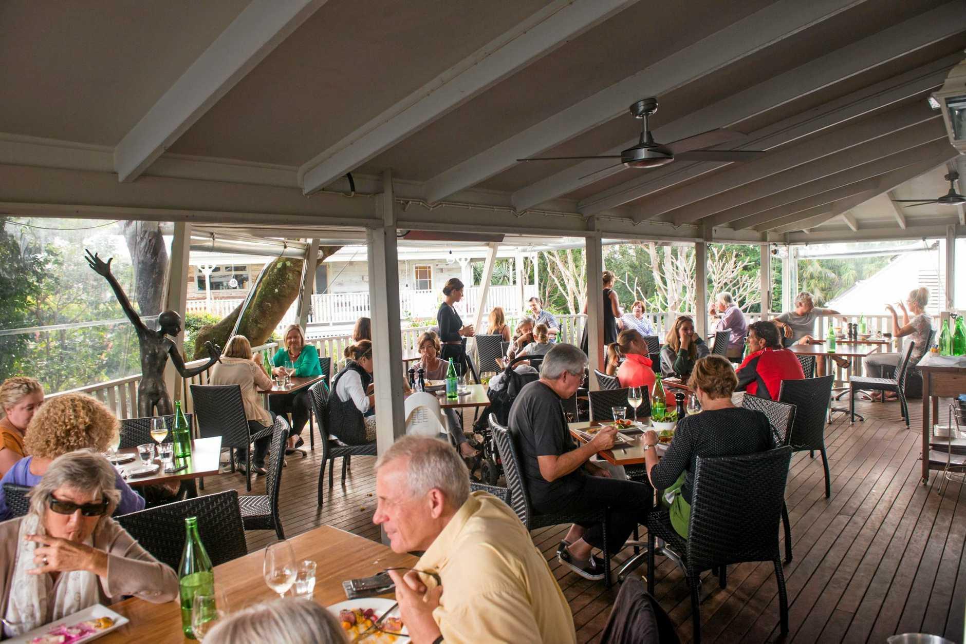Newrybar's Harvest Café named second best Aussie restaurant for a weekend getaway. Photo Contributed