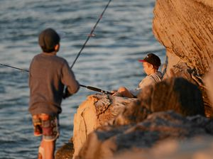 Anglers shoulder to shoulder in the chase for blackfish