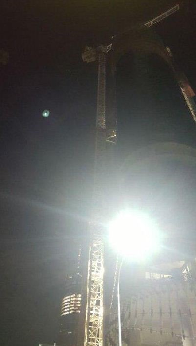 Four people including two men and a woman from the Sunshine Coast have been charged after base jumping from a crane in Brisbane City overnight.