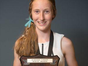 Squash player Laura Moloney